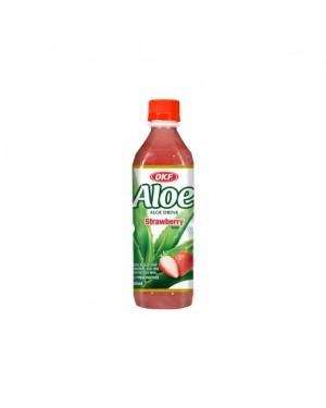Χυμός OKF Aloe Vera Φράουλα sugar free 500ml