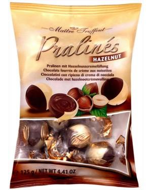 Maitre truffout σοκολατάκια duo κρέμας φουντ. Σακ. 125gr