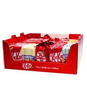 Kit kat promo box mix multi display 43τεμ