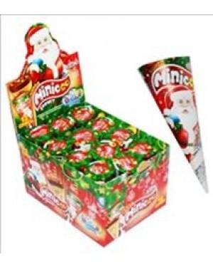 Anl Choco Santa minico σοκ. χωνάκι 25gr display 12τεμ