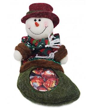 Oscar χριστ. κάλτσα με χιονανθρωπάκι & σοκολατάκια 80gr