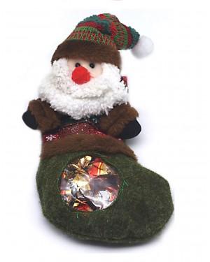 Oscar χριστ. κάλτσα με αγιοβασιλάκι & σοκολατάκια 80gr
