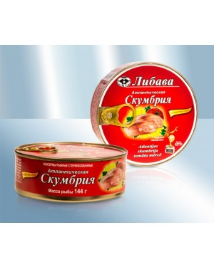 Σκουμπρί Libava σε σάλτσα τομάτας 240gr