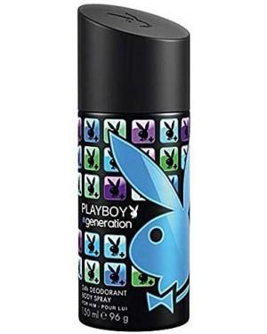 Spray αντρικό Playboy Generation Deo 150ml