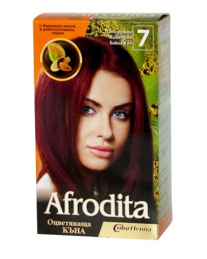 Afrodita henna no7 μελιτζανί