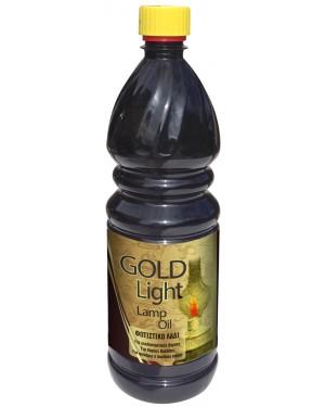 Gold light lamp oil 1l