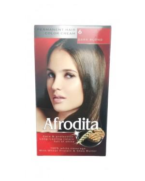 Βαφή μαλλιών μόνιμη Afrodita No6 ξανθό σκούρο