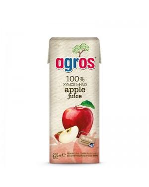 Χυμός Φυσικός Μήλο Agros 250ml