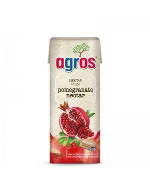 Χυμός Νέκταρ Ρόδι Agros 250ml