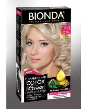Βαφή μαλλιών μόνιμη Bionda Professional No10.02