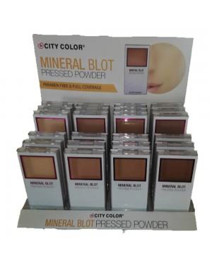 Πούδρα με καθρέπτη City Color Mineral F0049