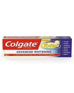 Οδοντόκρεμα Colgate Total Advance Whitening 75ml