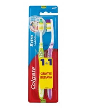 Οδοντόβουρτσα Colgate Extra Clean 1+1