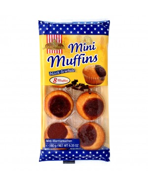 Muffins mini Meister moulin black&white 180gr