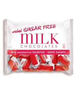 Σοκολατάκια γάλακτος Oscar mini sugar free 300gr