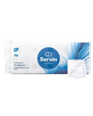 Χαρτί υγείας Servin Quality 3φυλλο 10 ρολών 103g το ρολό