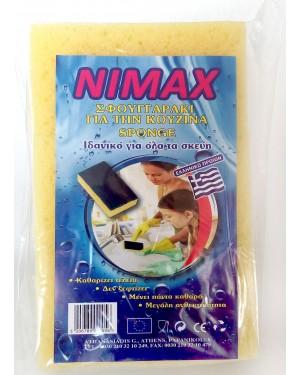 Σφουγγαράκι κουζίνας Nimax medium 6τεμ