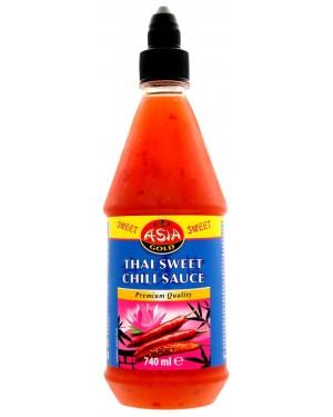 Thai Σάλτσα γλυκιά chili Asian Gold 740ml