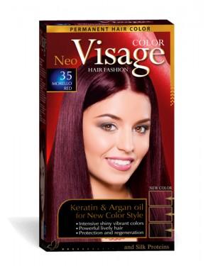 Βαφή μαλλιών visage No 35