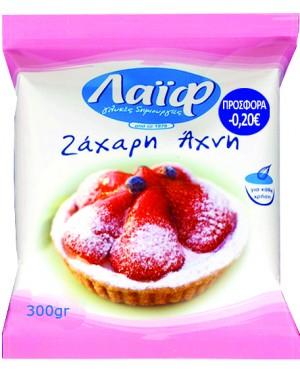 Ζάχαρη άχνη ΛΑΙΦ sticker 300gr 0,20€