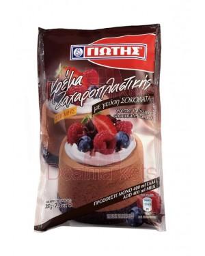 Γιώτης κρέμα ζαχαροπλαστικής με σοκολάτα 200gr display 12τεμ