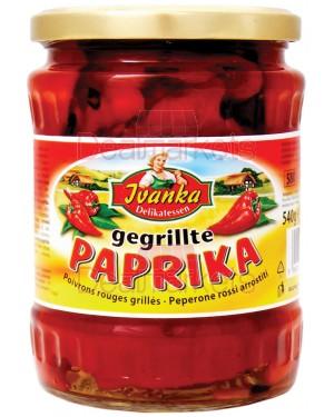 Ivanka  πιπεριές κόκκινες σε βάζο 580ml