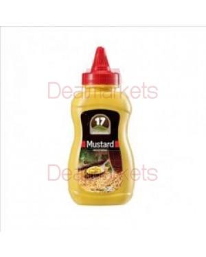 17 μουστάρδα πικάντικη πιπίλα 250gr