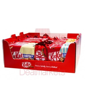Kit kat promo box mix multi display 43τεμ