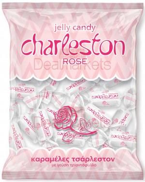 Καραμέλες Τσάρλεστον τριαντάφυλλο Amp σακ. 300gr