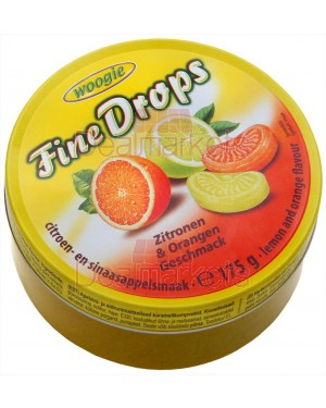 Woogie καραμέλες με γεύση πορτοκαλί λεμόνι 175gr