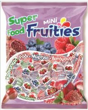 Amp καραμέλες fruities μίνι ζελέ φρούτα του δάσους 350gr