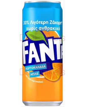 3ε Fanta orange blue 330ml coati
