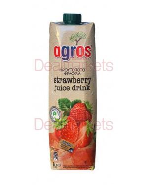 Φρουτοποτό Agrosφράουλα 1L