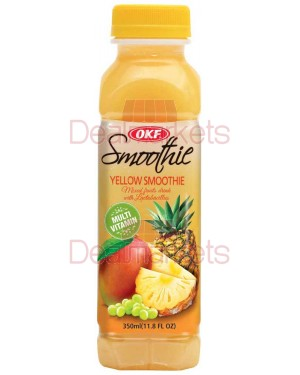 Smoothie Okf grape, pineapple, mango 350 ml (Κίτρινο)