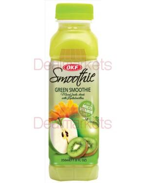 Okf  smoothie apple/kiwi/mango 350 ml (πράσινο)