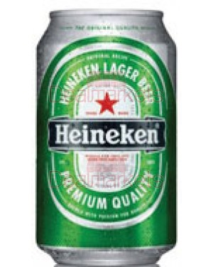 Beer Heineken 330ml  Κουτί