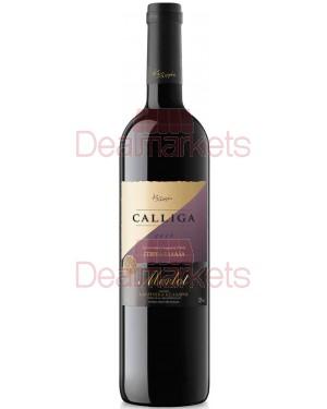 Οίνος ερυθρός Calliga Merlot ξηρός 750ml