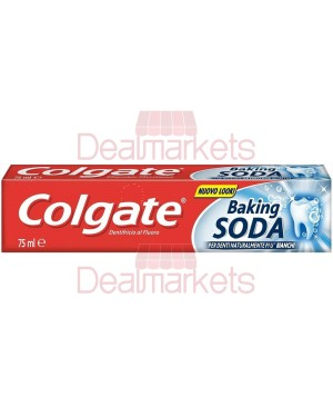 Colgate οδοντοκρεμα baking soda 75ml (εις.)