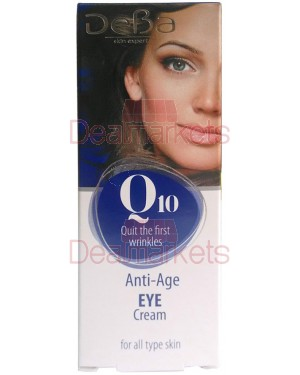 Deva κρέμα ματιών με q10 15ml