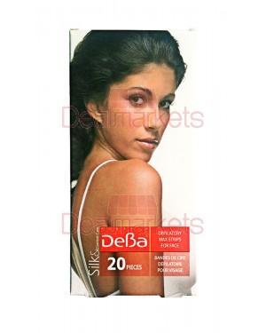 Αποτριχωτικές ταινίες Deva προσώπου 20Τεμ