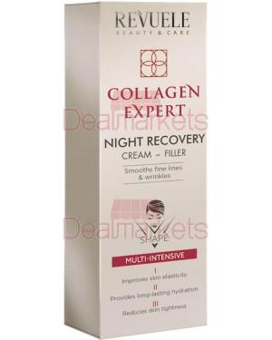 Revuele collagen expert κρέμα νυkτoς κολλαγόνο για λεπτές γραμμές 50ml