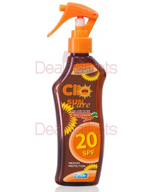Clio αντιηλιακό λάδι σε σπρέι spf20 200ml