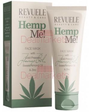 Revuele hemp me! μάσκα προσώπου αμυγδαλέλαιο και κάνναβη 80ml