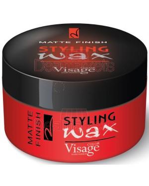 Visage κερί μαλλιών professional styling wax matte finish 150ml