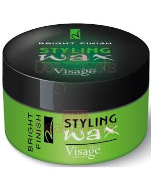 Visage κερί μαλλιών styling wax bright finish 150ml
