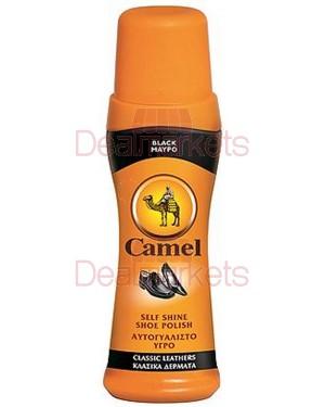 Camel βερνίκι παπουτσιών μαύρο 75ml