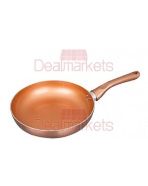 Keystone τηγάνι αλουμινίου κεραμικό copper επαγωγικό νο 24