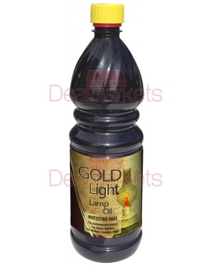 Gold light lamp oil 1l