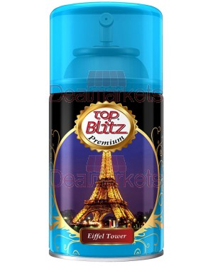 Top blitz premium ανταλλακτικό αποσμ. χώρου eiffel 260ml