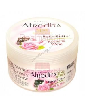 Afrodita Spa Body Butter Τριαντάφυλλο 350ml